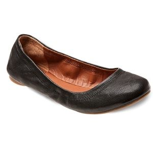 Lucky leather ballet flat - new without box